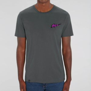 Camiseta gris antracita by Bolt Motor Co.