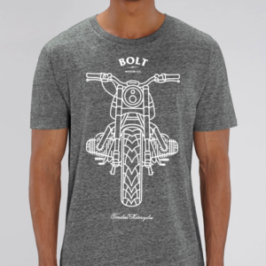 Camiseta gris by Bolt Motor Company